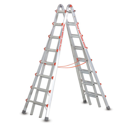 Little Giant 10109 15 Foot Aluminum MXZ Skyscraper Ladder