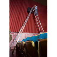 Little Giant 10110 17 Foot Aluminum MXZ Skyscraper Ladder