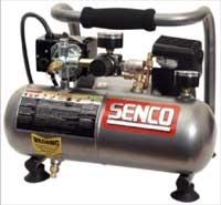 Senco PC1010 Air Compressor Oil-Less 1 Gal 1 HP