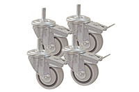Kreg PRS3090 3 inch Dual-Locking Caster Set