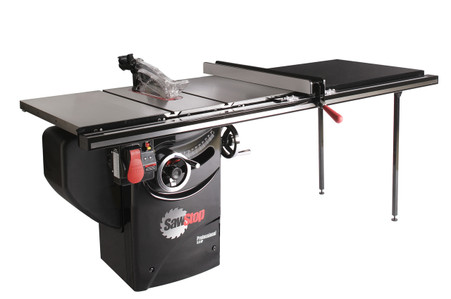 Sawstop pcs31230 tgp252 3hp 10 inch professional grade for 10 cabinet table saw