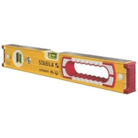 Stabila 37416 Level 16 inch Type 196 w/one hand hole 1 plumb vial