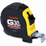Tajima G-30BW 30 ft G-Series Shock Resistant Tape Measure