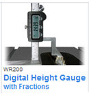 Wixey WR200 Digital Height Gauge w/ Fractions