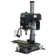 Jet 350020 Mill/Drill Mach JMD-18PFN, Built-in Power Downfeed, 2HP, 1P