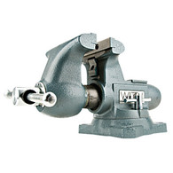 Wilton 63200 Tradesman Round Channel Vise with Swivel Base 5-1/2 Inch