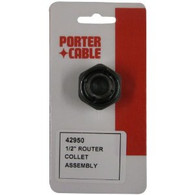 Porter Cable 42950 1/2 Inch Router Collet Assembly