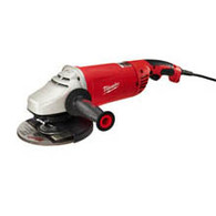 Milwaukee 6088-30 15 Amp 7 Inch/9 Inch Large Angle Grinder With  Lock-on
