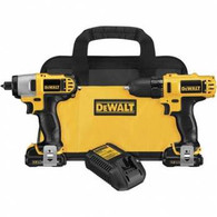 Dewalt 12V MAX Lithium Ion Drill/Impact Driver Kit