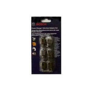 Bosch 6 Piece Power Change Hole Saw Adapter Set