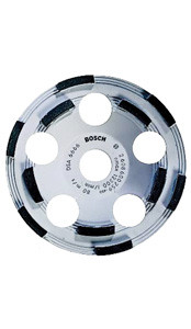 "Bosch 5"" Diamond Cup Grinding Wheel for Protective Coatings"