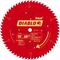 Diablo Fine Finish 60-Tooth Hi-ATB Circular Saw Blade