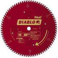 Diablo D1080X Ultra Fine Finish 80-Tooth Hi-ATB Circular Saw Blade