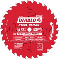 Diablo Steel Demon 30-Tooth TCG Metal Cutting Circular Saw Blade