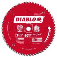 Diablo Ultra Fine Finishing 60-Tooth Circular Saw Blade