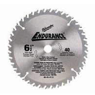 "Milwaukee 48-40-4112 6-1/2"" 40T Circular Saw Blade For Wood"