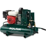 RolAir 6590HK18 6 1/2 HP Belt Drive Gas Powered Air Compressor