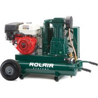 Rol-Air 8 HP 2-Stage Wheeled Gas Compressor