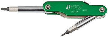 Klein 32536 10-in-1 Screwdriver/Nut Driver-TORX