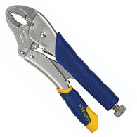 Vise-Grip 7T 7 Inch Fast Release Curved Jaw Locking Pliers with Wire Cutter