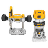 DeWalt 1.25 HP Var. Speed Compact Router Combo Kit w/LED's