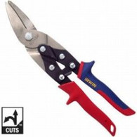 "Irwin 2073111 10"" Left Cut Aviation Snips"