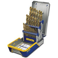 Irwin 3018003 29-pc Titanium Metal Index Drill Bit Set