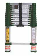 Xtend & Climb 780P Green 12 1/2' Telescoping Ladder-Professional