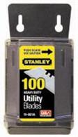 Stanley 11-921A 1992 HD Utility Blades w/Disp 100 pk