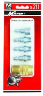 Milton S211 5 Piece M-Style Coupler Kit