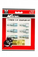 Milton S212 7 Piece M-Style Coupler Kit