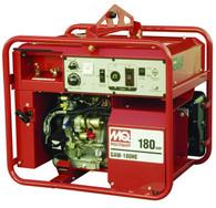 Multiquip GAW180HEA Recoil Start 3000 Watt Honda GX340 180A DC Welder / 3 KW Welder Generator