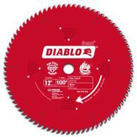 Diablo D12100X Fine Finish 100-Tooth ATB Circular Saw Blade