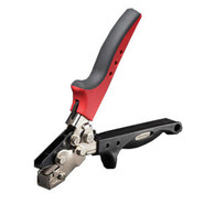 Malco SL2R Snap Lock Punch Adjustable, Red Handle