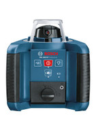 The Self-Leveling Rotary Laser with Layout Beam (GRL300HV) features a full selection of beam visibility enhancements, as well as quick horizontal and vertical electronic self-leveling. Included with the laser is the RC1 full function remote control, wall