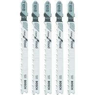 """Bosch T318A 5-1/4"""" 24TPI HSS Bosch Shank Jigsaw Blade 5 pack"""
