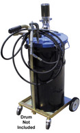 AFF 8622A Portable 16 Gallon Grease Unit 8620A W/ 4 Wheel Cart