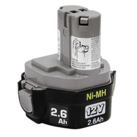 Makita 193157-5 1234 12-Volt 2.6 Amp Hour NiMH Pod Style Battery
