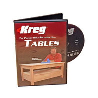 Kreg V05-DVD Pocket Hole Solution for Tables Instructional DVD