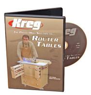 Kreg V06-DVD Pocket Hole Solution for Router Tables Instructional DVD