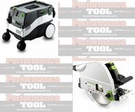 Festool P26561438 CT 26E/TS 75 EQ Package Deal With T-Loc