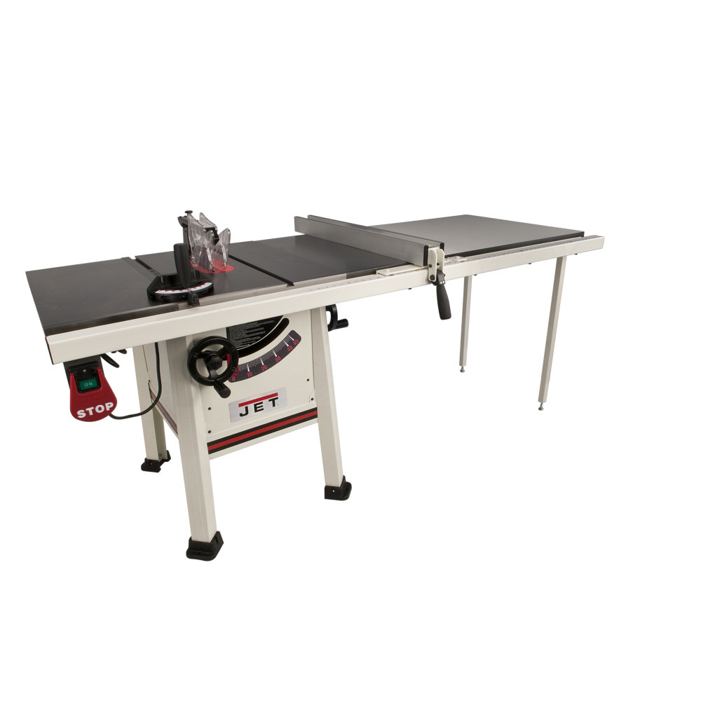 Jet 708495k jps 10ts 30 10 in proshop table saw w fence for 52 table saw