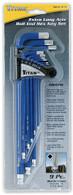 Titan 12714 9 Piece Extra Long Arm Ball Tip SAE Hex Key Set