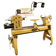 Powermatic 1794224K 4224B Woodworking Lathe w/ Lamp Kit 3HP, 1/3Ph, 220V