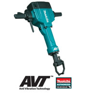 Makita HM1810X3 Breaker Hammer Kit With AVT and Hammer Cart