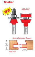 Freud 99-762 Matched Rail/Stile Router Bit Set Shaker style