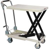 JET 140779 SLT-1650 1650 lb Quick-Lift Pump Scissor Lift Table