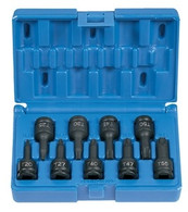 Grey Pneumatic 1200T 3/8 inch Drive Internal Torx Impact Socket Set