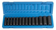Grey Pneumatic 1412MD 1/2 inch Drive Deep Length Metric Socket Set