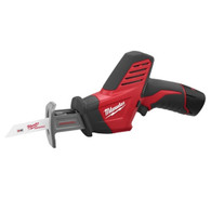 Milwaukee 2420-22 12 Volt Lithium Ion M12 Cordless Hackzall Reciprocating Saw Kit